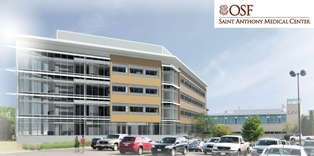 OSF Saint Anthony Medical Center breaks ground on    $85 million addition in Rockford