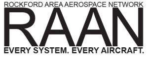 RAAN - Rockford Area Aerospace Network Logo