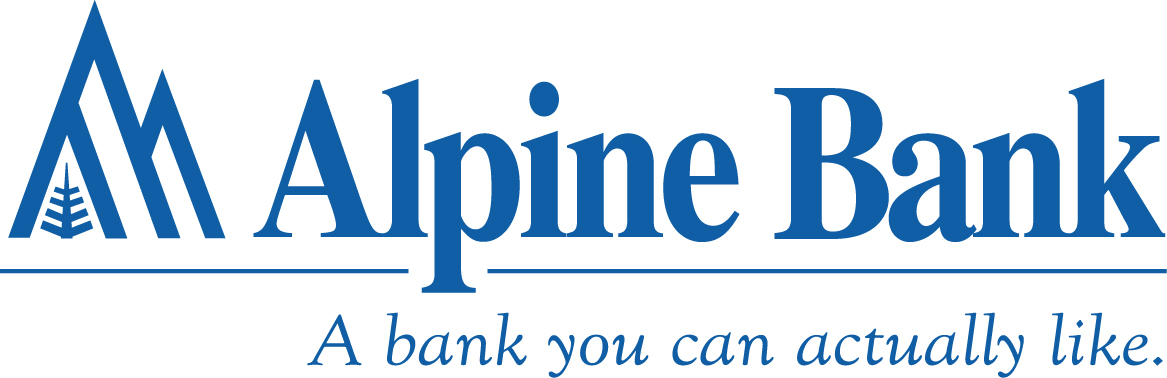 Alpine Bank Blue w tag