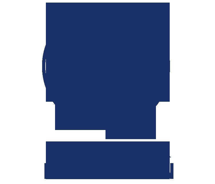 Cluster Icons Logistics Text Blue Rockford Illinois Usa