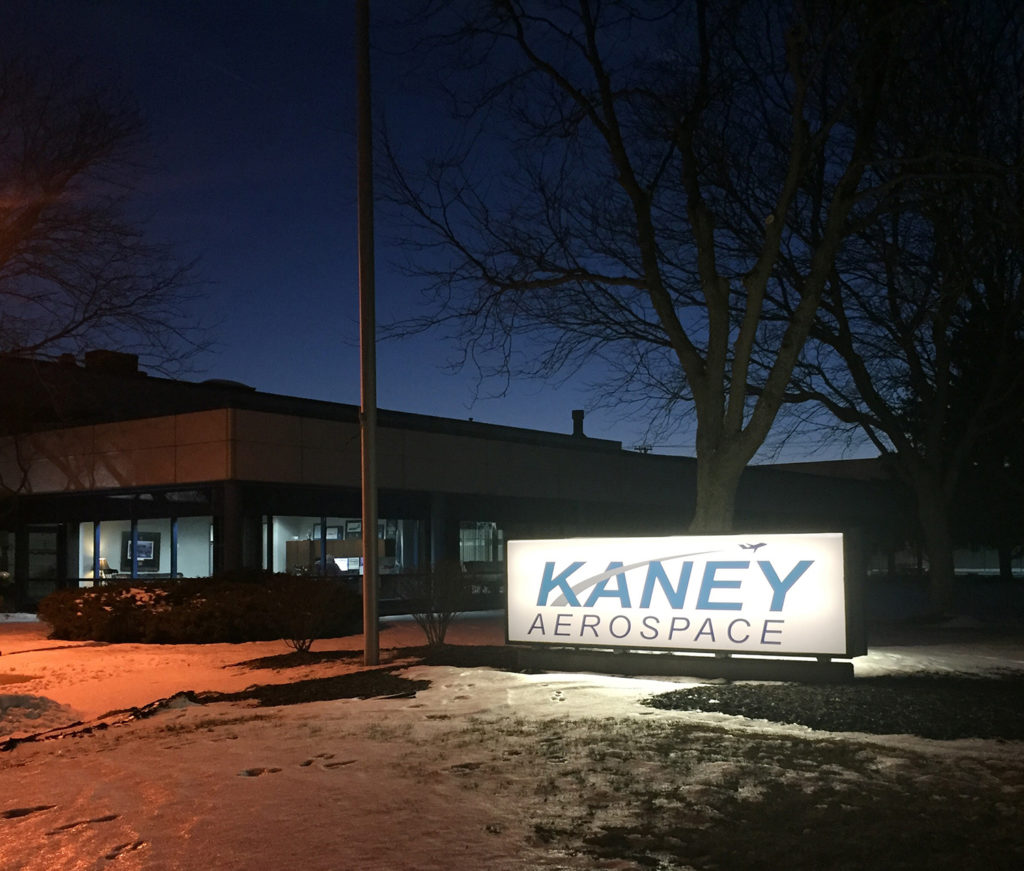 Kaney Aerospace Building located in Rockford, IL